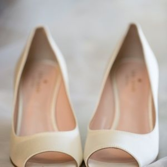 kate spade Shoes - HP!Kate Spade Radiant Wedge size 8 sparkle wedding
